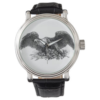 montre d'illustration de nature animale d'oiseau