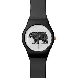 Montre d'ours gris