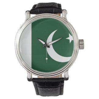 Montre Drapeau du Pakistan