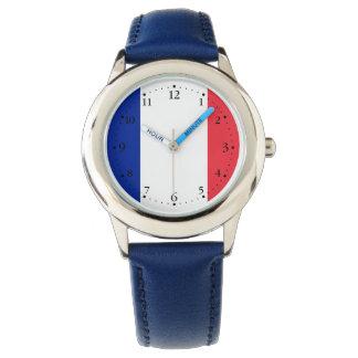 Montre Drapeau français patriotique