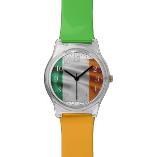 Montre Drapeau irlandais, Eire, conception du jour de St