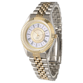 montre élégante personnalisée de bracelet