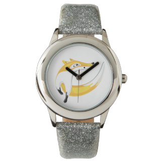 Montre Fox rouge, regardant loin