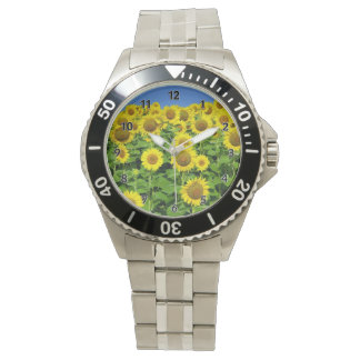 Montre Gisements de tournesol