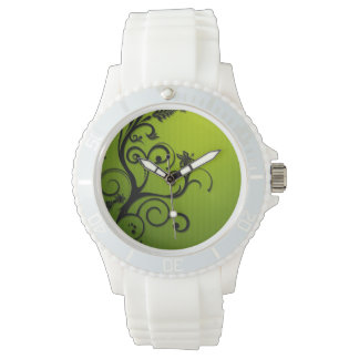 Montre Green Fall Swirl