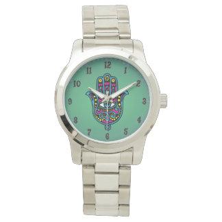 Montre Horloge Grande Argentée Miriâ