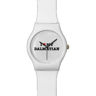 Montre I coeur ma montre-bracelet dalmatienne du 28 mai