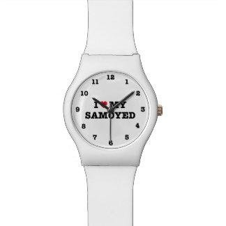 Montre I coeur mon Samoyed May28th numéroté