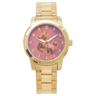 Montre Intensité rouge de la montre-bracelet | de licorne