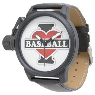 Montre J'aime le base-ball