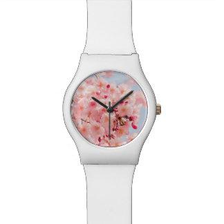Montre Japonais Sakura. Fleurs de cerise