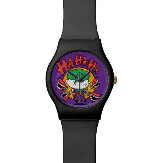 Montre Joker de Chibi avec des dents de jouet