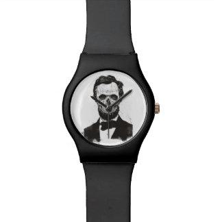 Montre Lincoln mort (noir et blanc)