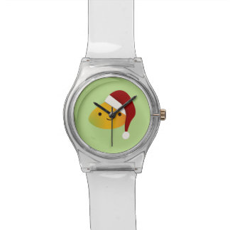 Montre Mangue de Noël de Kawaii