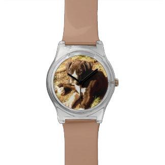 Montre Montre-bracelet de chien de boxeur