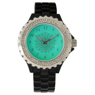 Montre Montre-bracelet de mandala d'Aqua