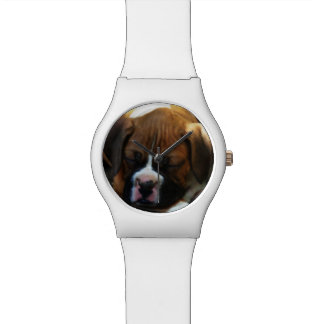 Montre Montre-bracelet du chien May28th de boxeur