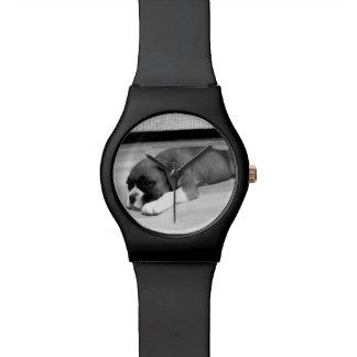 Montre Montre-bracelet du chien May28th de boxeur