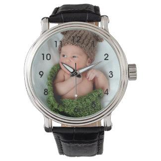 Montre Montre-bracelet personnalisée de photo