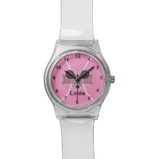 Montre Nom rose du tennis | do-it-yourself