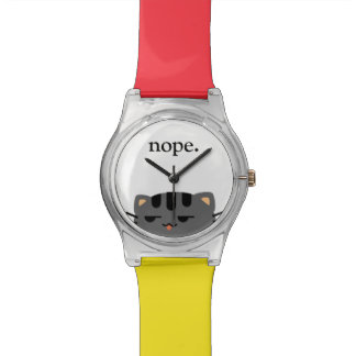 Montre Nope Kitty