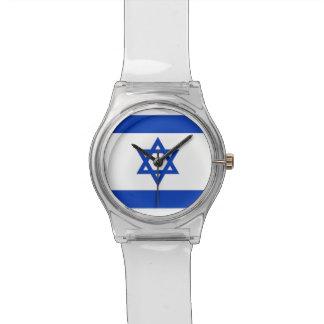 Montre patriotique d'enfants avec le drapeau de montres