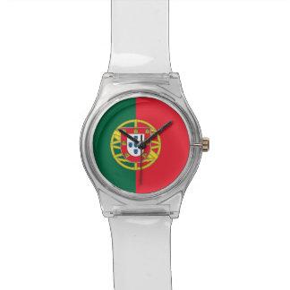 Montre patriotique d'enfants avec le drapeau du montres bracelet