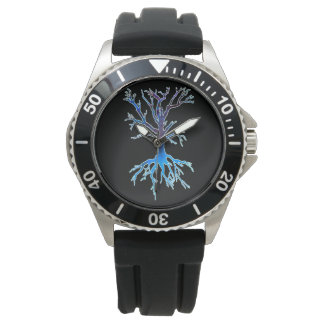 Montre Psychedelic Tree 2 (blue)