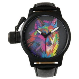 Montre Renard coloré