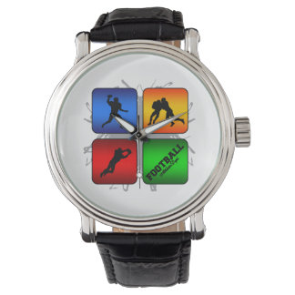 Montre Style urbain du football extraordinaire