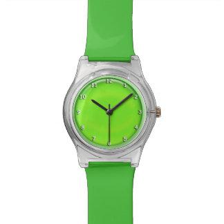 Montre - vert tridimensionnel ou