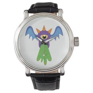 Montre vomissante de batte montres bracelet