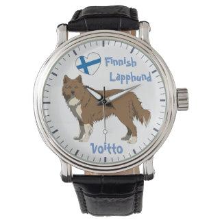 Montre Watch finlandais Lapphund irlandais brown