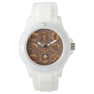 Montre Wood Social Moyen