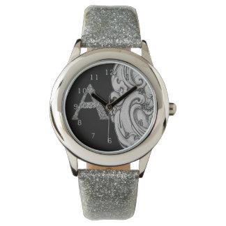 Montres Bracelet A - L'alphabet de Falck (argenté)
