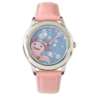 Montres Bracelet Axolotl et la conception audacieuse de vecteur de