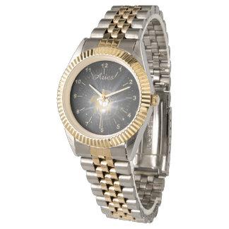 Montres Bracelet Bélier d'or intelligent
