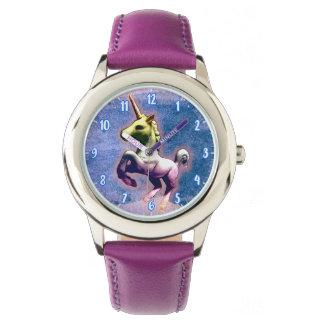 Montres Bracelet Bleu brûlé par | de montre-bracelet de licorne