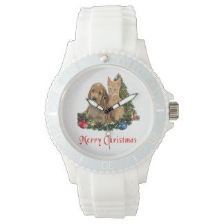 Montres Bracelet Cadeaux de Noël d'animaux