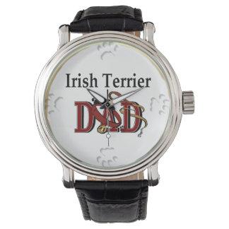 Montres Bracelet Cadeaux de papa de Terrier irlandais
