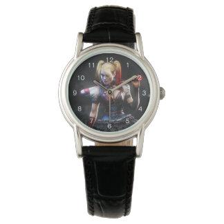 Montres Bracelet Chevalier de Batman Arkham | Harley Quinn avec la