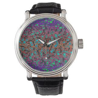 Montres Bracelet Colorful Labyrinth♥