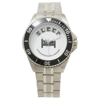 Montres Bracelet Dorment mon humour préféré de signe de mode de