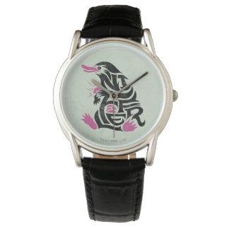Montres Bracelet Graphique de typographie de Niffler