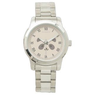 Montres Bracelet Horloge Panda Romain