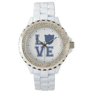 Montres Bracelet Insigne de policier - L O V E