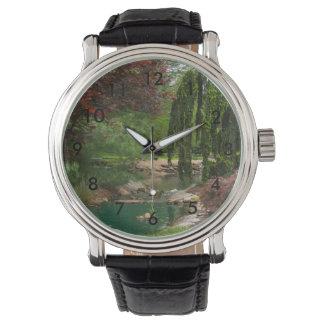 Montres Bracelet Jardin paisible