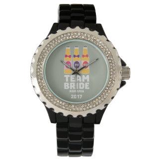 Montres Bracelet Jeune mariée Roumanie d'équipe 2017 Zhg2u