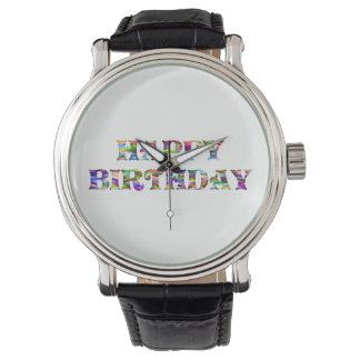 Montres Bracelet Joyeux anniversaire