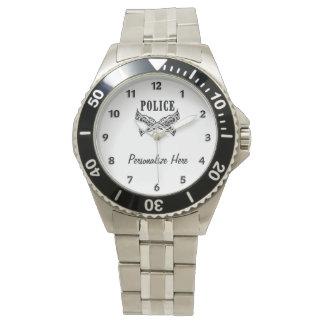 Montres Bracelet La police tatoue